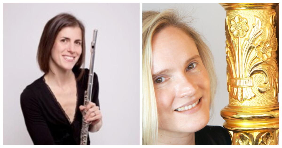 Katherine Baker, flute & Lucy Wakeford, harp