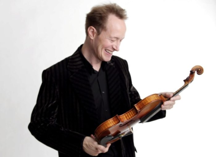 Anthony Marwood (violin) with the Northern Chamber Orchestra